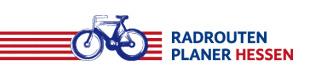 Logo Radroutenplaner Hessen